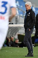 Gian Piero Gasperini coach of Atalanta BC reacts during the Serie A football match between US Sassuolo and Atalanta BC at Citta del Tricolore stadium in Reggio Emilia (Italy), May 2nd 2021. Photo Andrea Staccioli / Insidefoto