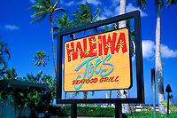 The Haleiwa  Joe's Restaurant. A popular dining establishment located in the heart of Historic Haleiwa town on the north shore of Oahu.
