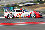 Eric CUrran (31), Driver of Marsh Racing Corvette in action during the Grand-Am of the Americas practice and qualifying sessions at the Circuit of the Americas race track in Austin,Texas...