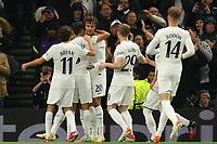 30th September 2021; Tottenham Hotspur Stadium. Tottenham, London, England; UEFA Conference League football, Tottenham v NS Mura: Dele Alli of Tottenham Hotspur celebrates his goal for 1-0 in the 4th minute