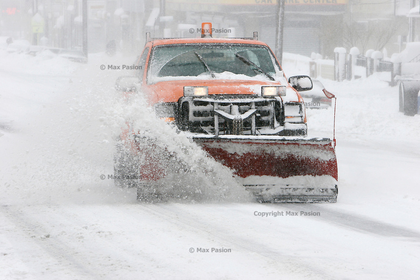 Blizzard of 2006 in Jersey City, NJ.
