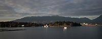 Vancouver, Canada - November 7, 2017: Vancouver Scenics