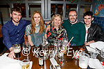 Finn and Ciara Manning, Deirdre Lacey, Donal and Ewan Manning enjoying the evening in the Ashe Hotel on Saturday.