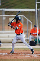 Miami Marlins Jan Mercado (81) during a Minor League Spring Training Intrasquad game on March 27, 2018 at the Roger Dean Stadium Complex in Jupiter, Florida.  (Mike Janes/Four Seam Images)