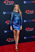 "LOS ANGELES, USA. August 14, 2019: Sistine Rose Stallone at the premiere of ""47 Meters Down: Uncaged"" at the Regency Village Theatre.<br /> Picture: Paul Smith/Featureflash"