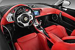 High angle dashboard view of a 2009 Lotus Evora 2 Door Coupe