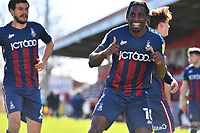 Clayton Donaldson of Bradford City AFC scores the second Goal and celebrates during Stevenage vs Bradford City, Sky Bet EFL League 2 Football at the Lamex Stadium on 5th April 2021