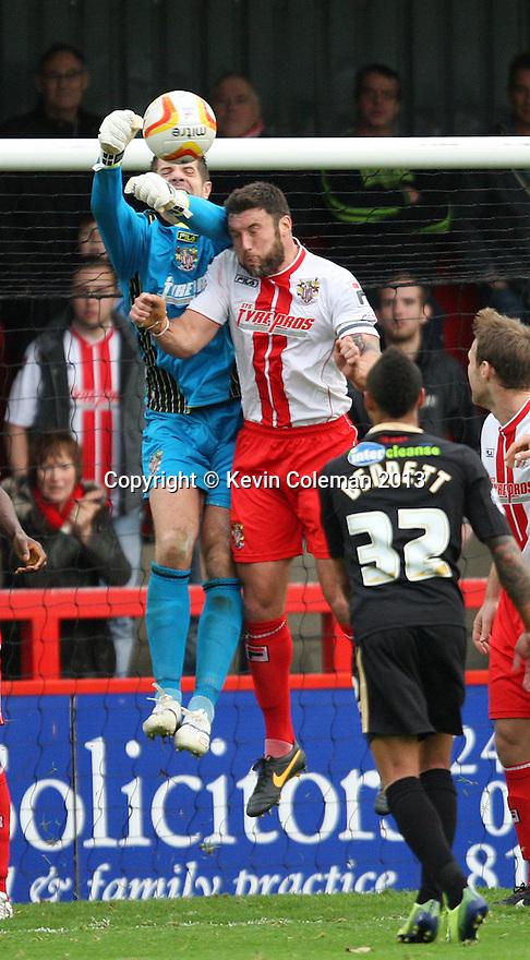 Chris Day of Stevenage punches clear<br />  - Stevenage v Crawley Town - Sky Bet League 1 - Lamex Stadium, Stevenage - 26th October, 2013<br />  © Kevin Coleman 2013<br />  <br />  <br />  <br />  <br />  <br />  <br />  <br />  <br />  <br />  <br />  <br />  <br />  <br />  <br />  <br />  <br />  <br />  <br />  <br />  <br />  <br />  <br />  <br />  <br />  <br />  <br />  <br />  <br />  <br />  <br />  <br />  <br />  <br />  <br />  <br />  <br />  <br />  <br />  <br />  <br />  <br />  <br />  <br />  <br />  <br />  <br />  <br />  <br />  <br />  <br />  <br />  - Crewe Alexandra v Stevenage - Sky Bet League One - Alexandra Stadium, Gresty Road, Crewe - 22nd October 2013. <br /> © Kevin Coleman 2013