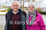 Kevin and Peggy Geary from Ardfert receiving their vaccines on Friday at the Fuchsia Medical Centre  in Tralee.