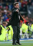 WfL Wolfsburg's coach Dieter Hecking during Champions League 2015/2016 Quarter-finals 2nd leg match. April 12,2016. (ALTERPHOTOS/Acero)