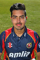 Rehan Hassan of Essex CCC in Friends Life T20 Kit - Essex County Cricket Club Press Day at the Essex County Ground, Chelmsford, Essex - 02/04/13 - MANDATORY CREDIT: Gavin Ellis/TGSPHOTO - Self billing applies where appropriate - 0845 094 6026 - contact@tgsphoto.co.uk - NO UNPAID USE.