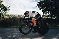 6th October 2021 Womens Cycling Tour, Stage 3. Individual Time Trial; Atherstone to Atherstone. Femke Markus.