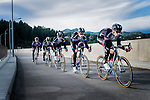 Team Giant-Alpecin sprint train training camp held around Cambrils, Spain.<br /> Photo: Team Giant-Alpecin/www.newsfile.ie