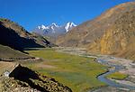 Kunzum La, Himachal Pradesh, India, August 2001.