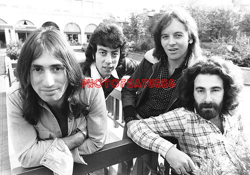 10cc  1973  Lol Creme, Graham Gouldman, Eric Stewart and Kevin Godley<br /> © Chris Walter