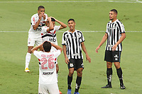 São Paulo (SP), 10/01/2021 - São Paulo-Santos - Gabriel Sara lamenta em partida entre São Paulo e Santos válida pelo Campeonato Brasileiro neste domingo (10) no estádio do Morumbi em São Paulo.