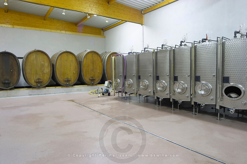 stainless steel tanks dom c koehly rodern alsace france