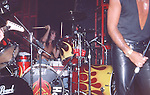 Tommy Lee of Motley Crue at   at The Roxy in Hollywood Aug 1986.