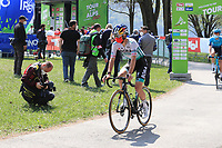 23rd April 2021; Cycling Tour des Alpes Stage 5, Valle del Chiese to Riva del Garda, Italy;  Anton Palzer Bora-Hansgrohe