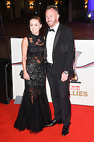 Ola and James Jordan<br /> at the Millies 2016, Guildhall, London.<br /> <br /> <br /> ©Ash Knotek  D3212  14/12/2016
