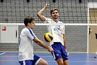 GRONINGEN - Volleybal, Eerste training Amysoft Lycurgus , seizoen 2021-2022, 17-08-2021,  Maarten Bartels
