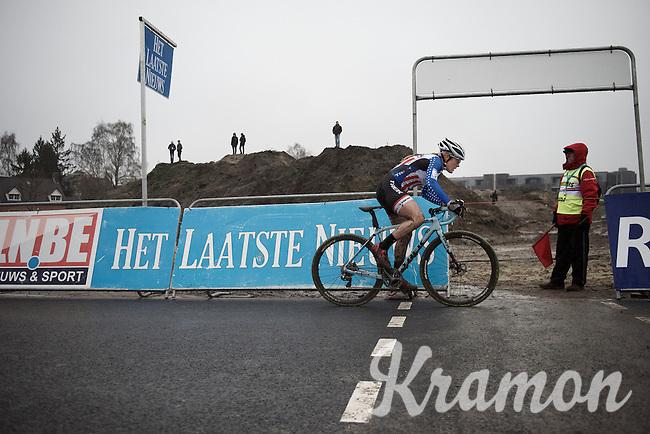 American Champion Katherine 'Katie' Compton (USA/Trek)<br /> <br /> Grand Prix Adrie van der Poel, Hoogerheide 2016<br /> UCI CX World Cup