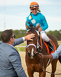 March 7, 2020: #7, STARSHIP JUBILEE stays perfect 3 for 3 on the year with a win in the Grade II Hillsborough Stakes under Jockey Javier Castellano for Trainer Kevin Attard on Tampa Bay Derby Day on March 7, 2020 in Tampa, FL. (Photo by Carson Dennis/Eclipse Sportswire/CSM)
