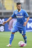 Vincent Laurini Empoli <br /> Empoli 04-10-2015 Stadio Castellani Football Calcio Serie A 2015/2016 Empoli - Sassuolo Foto Andrea Staccioli / Insidefoto