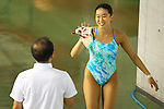 Hana Kaneto,<br /> SEPTEMBER 18, 2015 - Diving : <br /> All Japan Diving Championship 2015<br /> Women's Synchronised 3m Springboard Final<br /> at Tatsumi International Swimming Center, Tokyo, Japan.<br /> (Photo by Shingo Ito/AFLO SPORT)