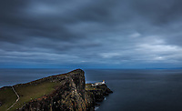 View of the hiking destination Neist Point with the lighthouse, Glendale, Scotland on 2015/06/09. Foto EXPA/ JFK/Insidefoto