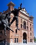 Spanien, Kastilien, Madrid: Stierkampfarena im Stadtteil Las Ventas | Spain, Castile, Madrid: bull fight ring at district Las Ventas