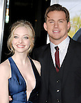 Amanda Seyfried & Channing Tatum at the Screen Gems' L.A. Premiere of Dear John held at The Grauman's Chinese Theatre in Hollywood, California on February 01,2010                                                                   Copyright 2009  DVS / RockinExposures