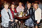 Sheila Hanafin, Peggy Carroll, Breda O'Leary, Margaret Enright and Noreen Casey enjoying the Ballygarry House Hotel Christmas Party in the Rose Hotel on Sunday.