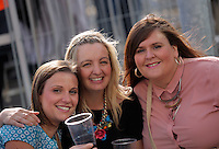 Pictured: Fans outside the stadium Saturday 18 June 2016<br /> Re: Lionel Richie, All The Hits concert at the Liberty Stadium, Swansea, Wales, UK