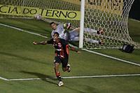 Campinas (SP), 14/08/2020 - Ponte Preta - Vitória-BA - Mateusinho comemora gol do Vitoria. Partida entre Ponte Preta e Vitória-BA pelo Campeonato Brasileiro 2020 da serie B, nesta sexta-feira (14), no Estádio Moisés Lucarelli, em Campinas (SP).