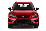Car photography straight front view of a 2019 Cupra Ateca Xcellence 5 Door SUV Front View