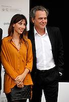 Jose Coronado and Barbara Goenaga during the 61 San Sebastian Film Festival, in San Sebastian, Spain. September 20, 2013. (ALTERPHOTOS/Victor Blanco) /NortePhoto