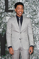 """Jacob Latimore<br /> at the European premiere of """"Collateral Beauty"""" at the Vue Leicester Square , London.<br /> <br /> <br /> ©Ash Knotek  D3213  15/12/2016"""