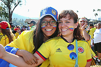 Action photo during the match Colombia vs Paraguay at Rose Bowl Stadium Copa America Centenario 2016. ---Foto  de accion durante el partido Colombia vs Paraguay, En el Estadio Rose Bowl, Partido Correspondiante al Grupo - A -  de la Copa America Centenario USA 2016, en la foto: Fans<br /> <br /> --- 07/06/2016/MEXSPORT/German Alegria.