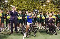 Rotterdam, The Netherlands, 14 Februari 2019, ABNAMRO World Tennis Tournament, Ahoy, Wheelchair, Final, Stephane Houdet (FRA) winner,<br /> Photo: www.tennisimages.com/Henk Koster