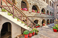 The monastery of Saint Marina in Andros island, Greece