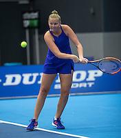Rotterdam, Netherlands, December 14, 2016, Topsportcentrum, Lotto NK Tennis,   Kelly Versteeg (NED)<br /> Photo: Tennisimages/Henk Koster