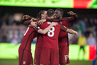 San Jose, Ca - Friday March 24, 2017: Clint Dempsey Jozy Altidore  during the USA Men's National Team defeat of Honduras 6-0 during their 2018 FIFA World Cup Qualifying Hexagonal match at Avaya Stadium.