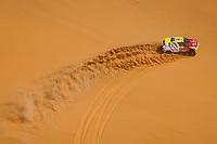 5th January 2021; Dakar Rally stage 3; #361 Lu Binglong (chn), Ma Wenke (chn), Baic, Baic ORV, Auto, action during the 3rd stage of the Dakar 2021 between Wadi Al Dawasir and Wadi Al Dawasir, in Saudi Arabia on January 5, 2021