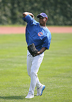 Carlos Marmol of the Chicago Cubs vs. the San Diego Padres: June 18th, 2007 at Wrigley Field in Chicago, IL.  Photo by Mike Janes/Four Seam Images