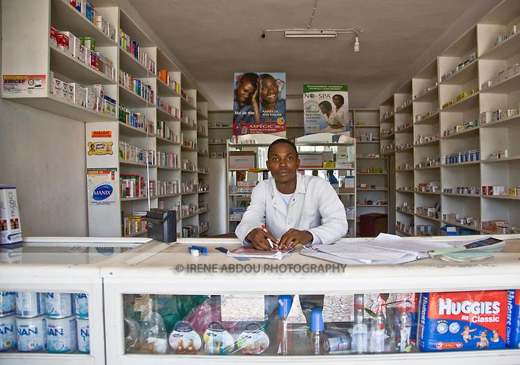 Pharmacy in Conakry, Guinea