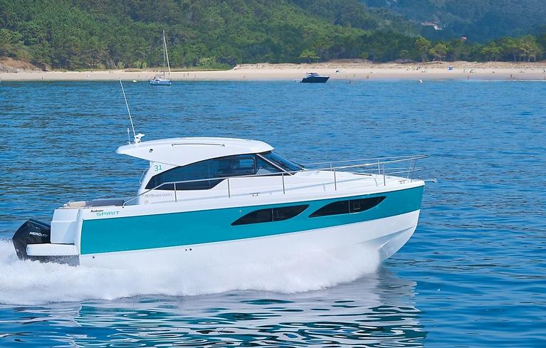 The Rodman Spirit 31 Outboard