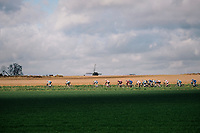 stretching the peloton<br /> <br /> 51th Le Samyn 2019 <br /> Quaregnon to Dour (BEL): 200km<br /> <br /> ©kramon