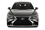 Car photography straight front view of a 2018 Lexus LS President 4wd 4 Door Sedan