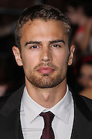 """WESTWOOD, LOS ANGELES, CA, USA - MARCH 18: Theo James at the World Premiere Of Summit Entertainment's """"Divergent"""" held at the Regency Bruin Theatre on March 18, 2014 in Westwood, Los Angeles, California, United States. (Photo by Xavier Collin/Celebrity Monitor)"""